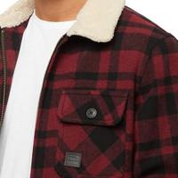 Cavan Jacket Red Check Heren