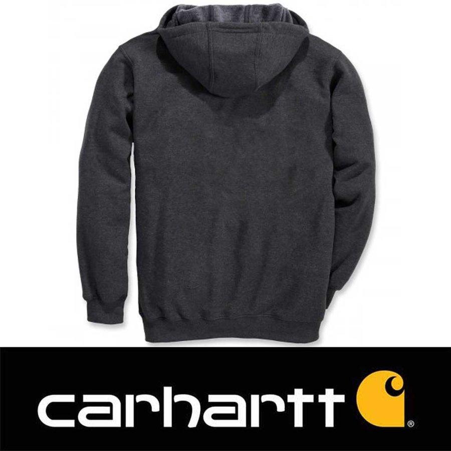 Midweight Zip Hooded Sweatshirt Carbon Heather Heren