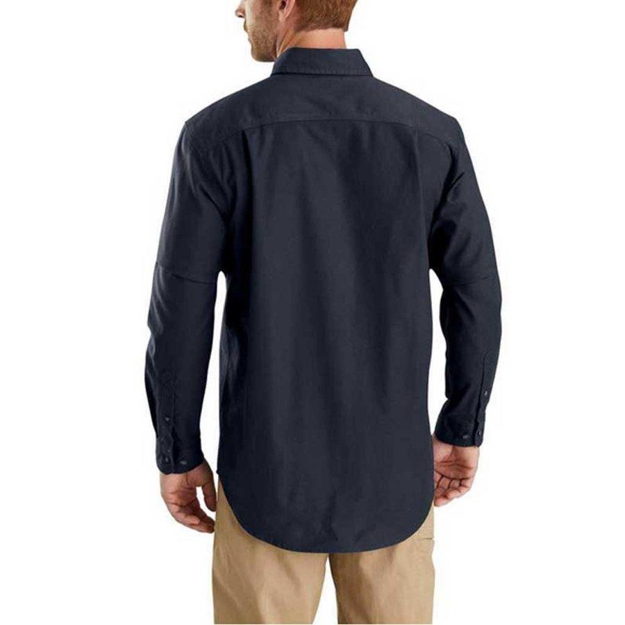Rugged Flex Rigby LS Navy Werkshirt Heren