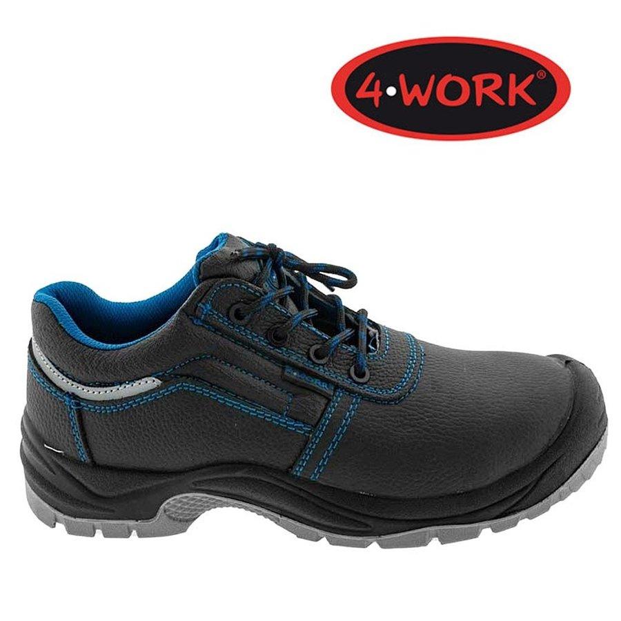 Zwart Laag S3 - 4W15 Werkschoenen