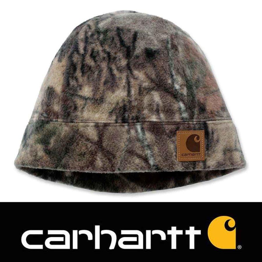 Camo Fleece Hat Mossy Oak Muts