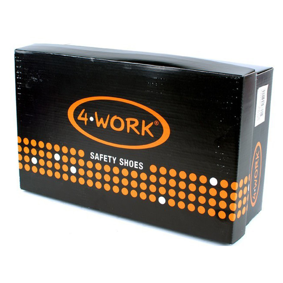 4W12 Zwart Hoge Werkschoenen S3