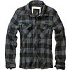Brandit Check Shirt Zwart Grijs Flanel Overhemd Heren