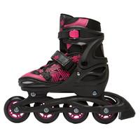 Jokey 3.0 Zwart Roze Verstelbaar Inline Skates