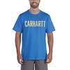 Carhartt Southern Block Logo Bolt Blue T-Shirt Heren