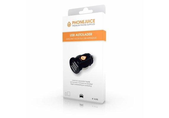 PhoneJuice USB Autolader 12V - 2A