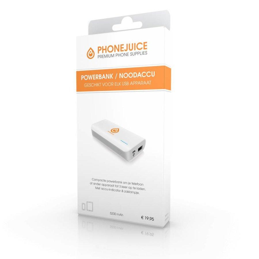 PhoneJuice Powerbank 5200 mAh