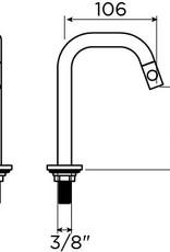Kaldur cold water tap