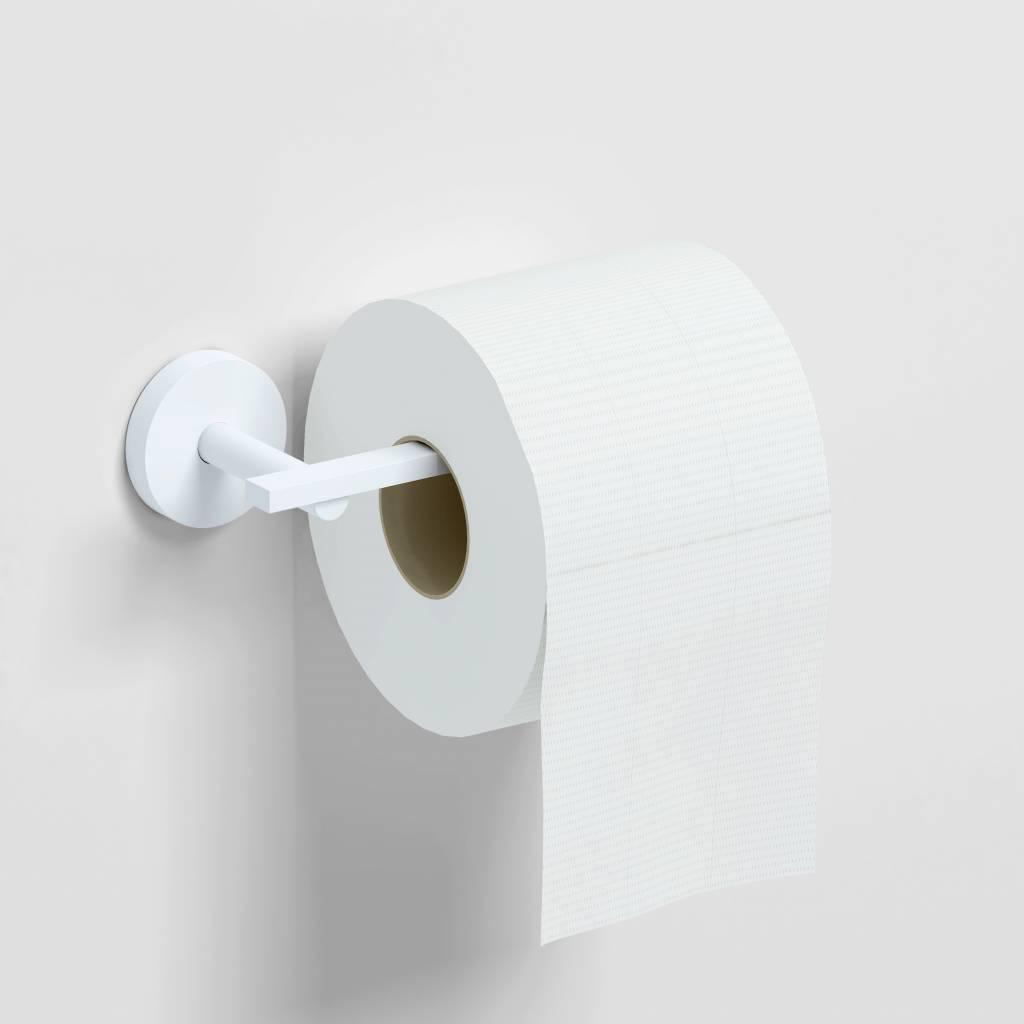 Flat toiletrolhouder