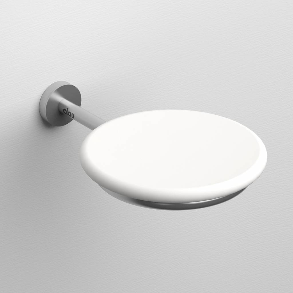 Slim soap dish