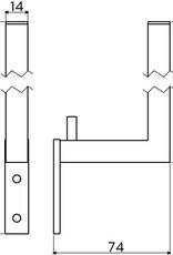 Quadria porte-rouleau réserve
