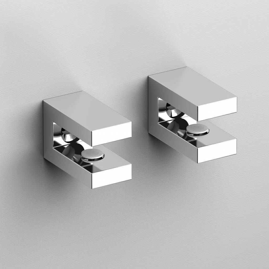 Quadria set of 2 brackets