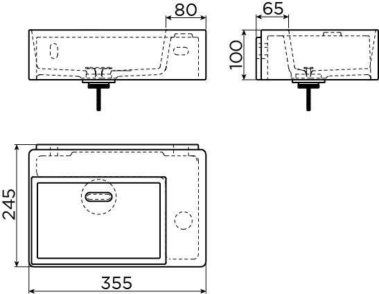 New Flush 2 lave-mains