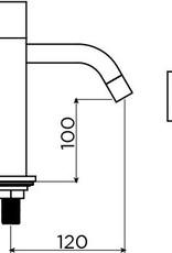 Freddo 5 fonteinkraan hoog