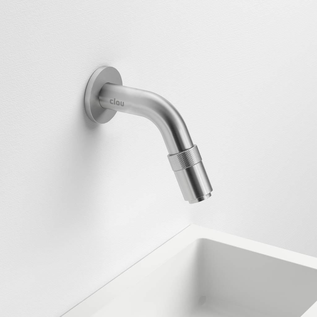 Freddo 11 cold water tap short, wall mounted