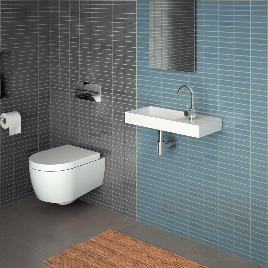 Mini Wash Me Plus hand basin 56 cm right