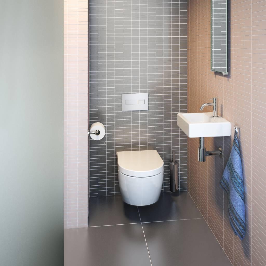 InBe reserve toiletrol houder