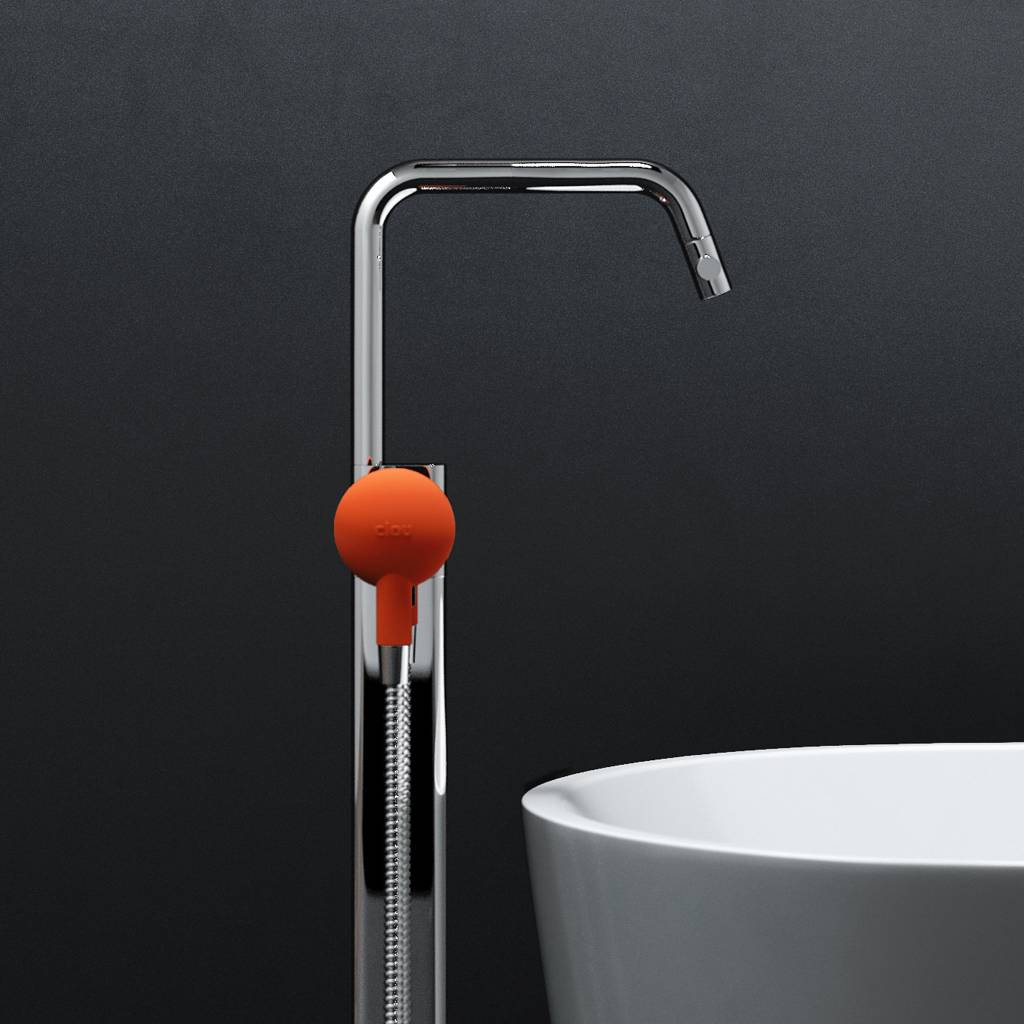 Kaldur freestanding bathtub mixer