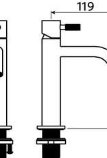 Xo washbasin mixer type 13
