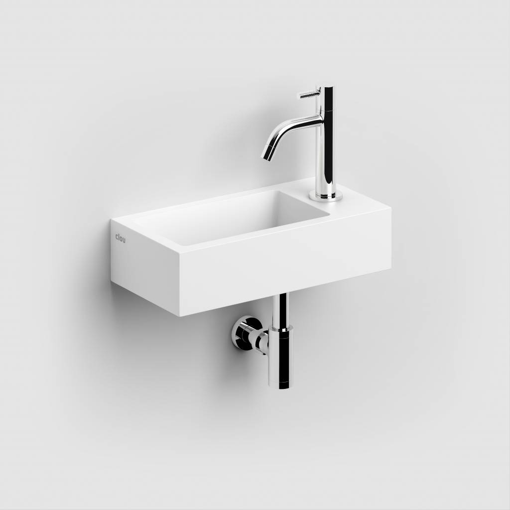Flush 3 hand basin right