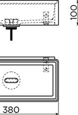 New Flush 3.1 hand basin set