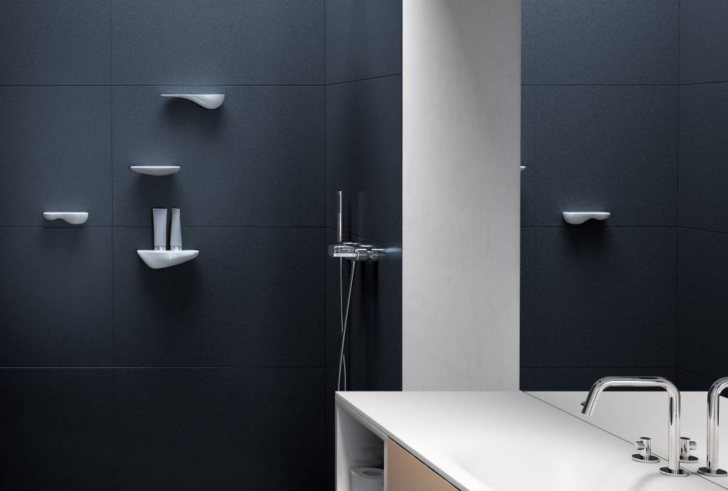 Cliff étagère pour la salle de bain, 27 cm