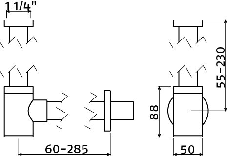 InBe design siphon type 2