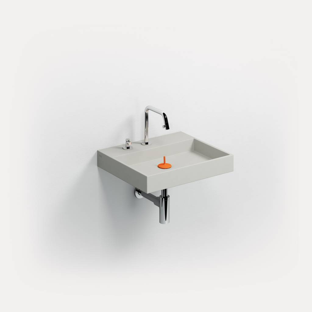 Wash Me wastafel 50 cm beton - uitverkoop -60%