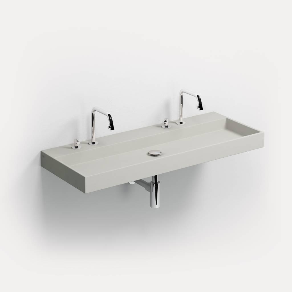 Wash Me wastafel 110 cm beton - uitverkoop -60%