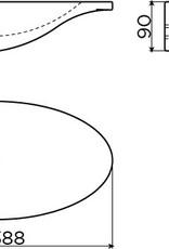 First fontein met kranenbank links - uitverkoop -60%