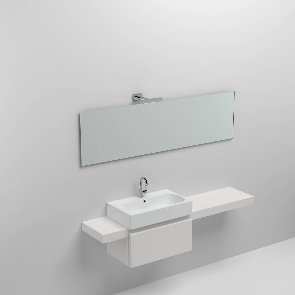 Match Me mirror cm with hidden fixation - outlet -60%