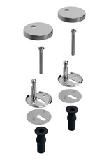 First Set hinges for First toilet seat CL/04.06030