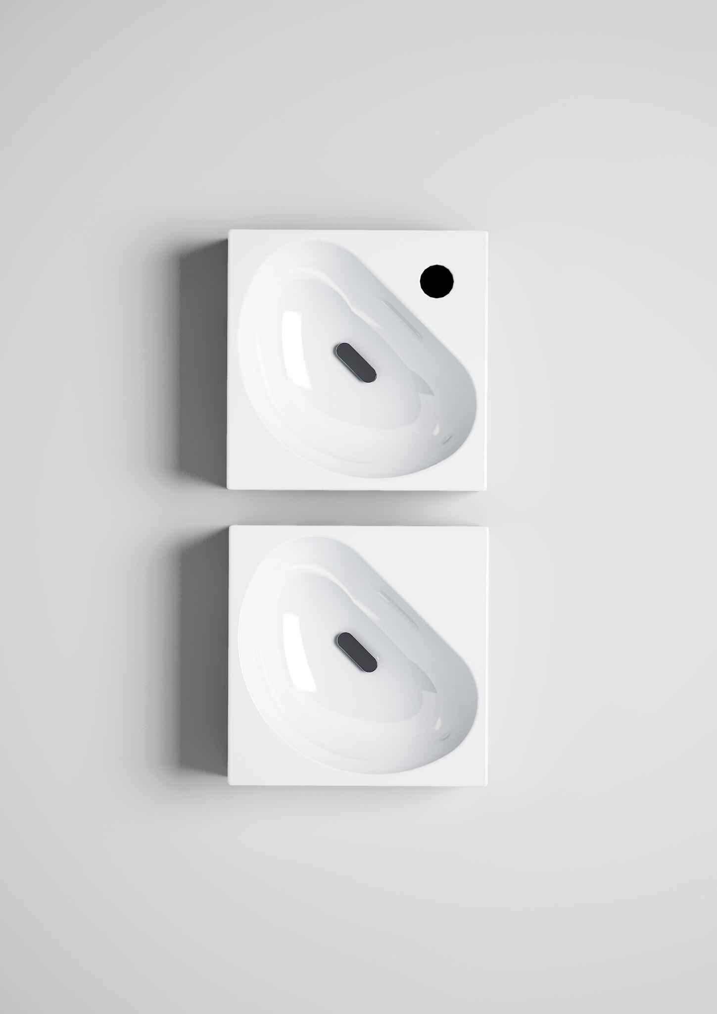 Flush 5 lave-mains angulaire