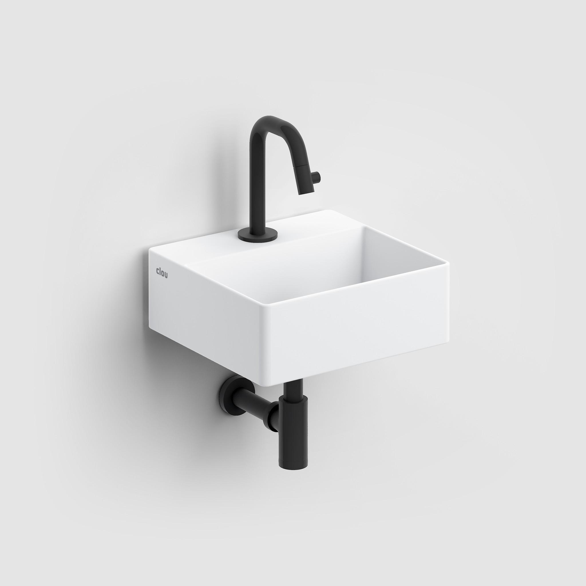 Kaldur Dark Mode robinet eau froide Kaldur et set de vidage