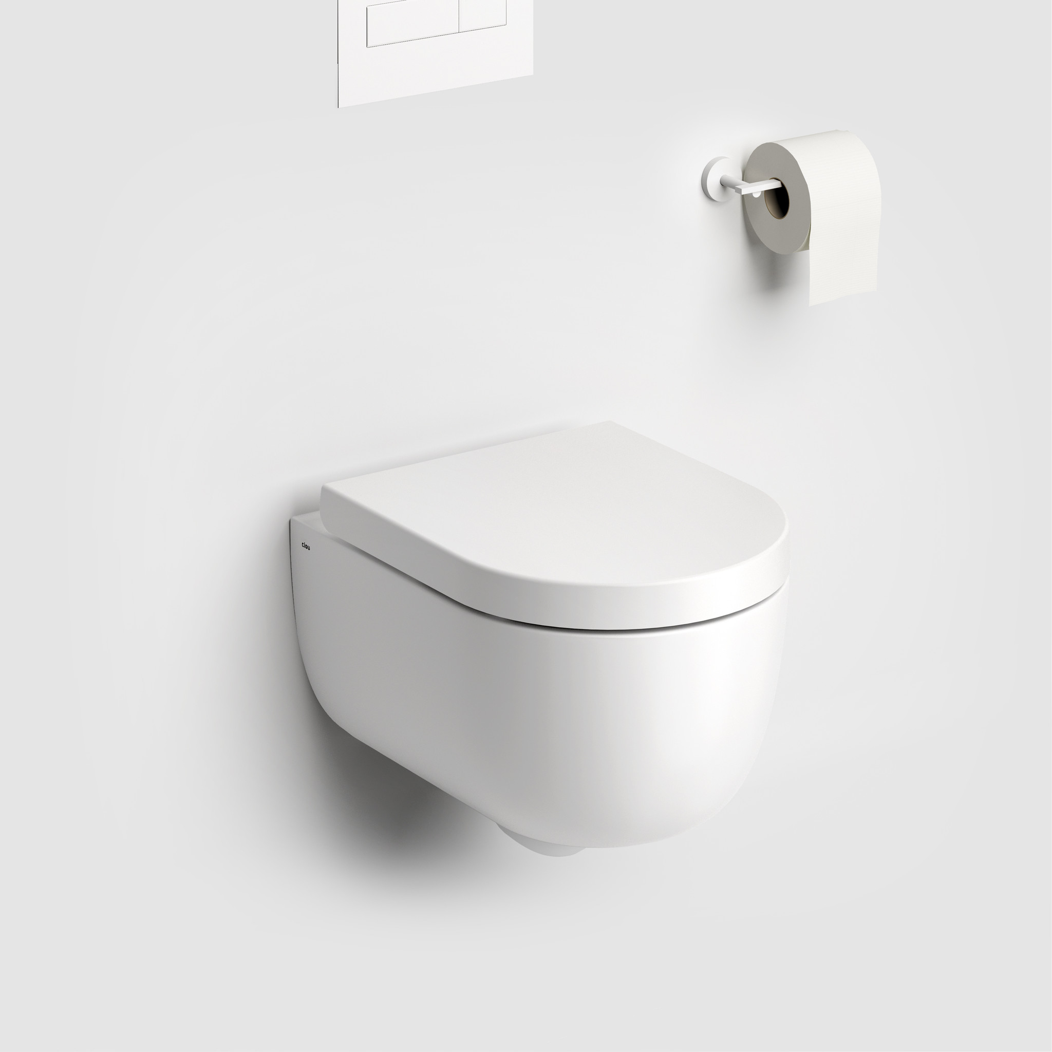 Hammock toilette 49cm sans bord, avec abattant