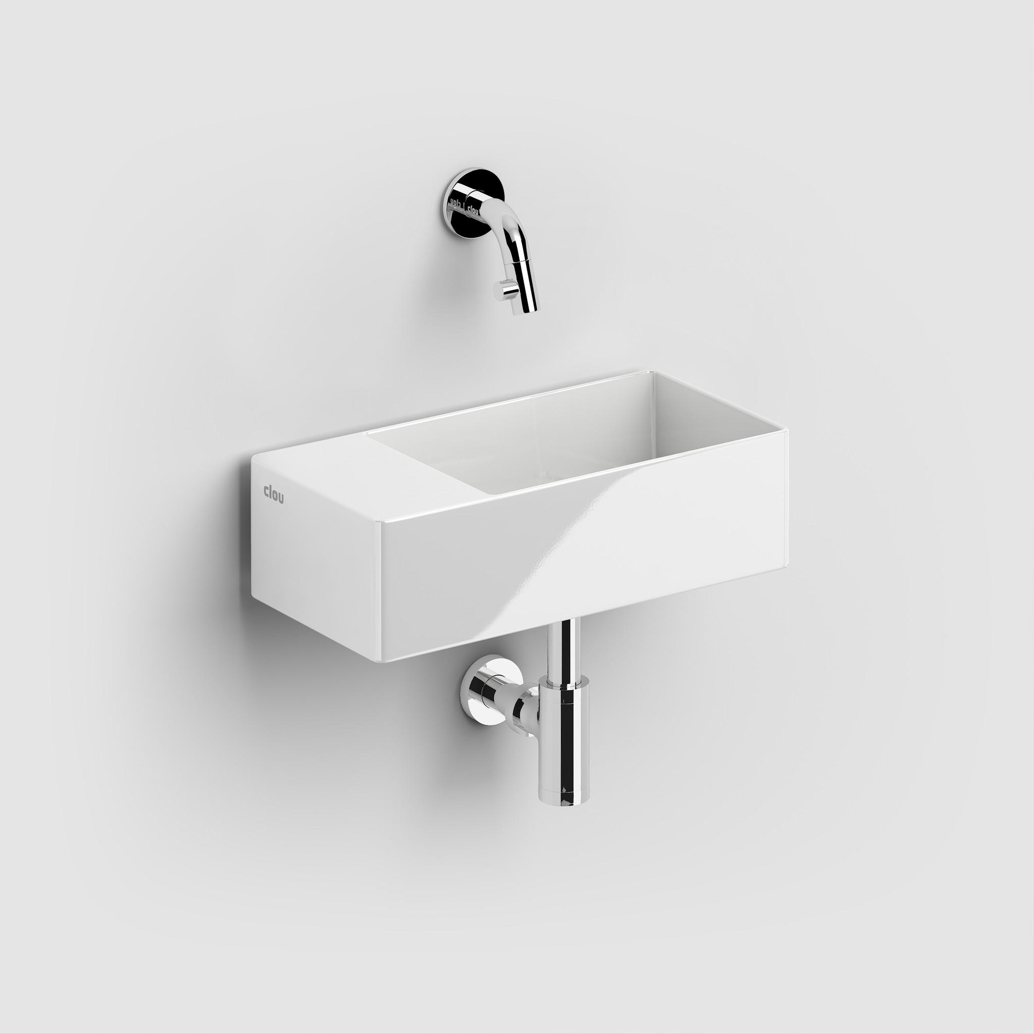 New Flush 3 hand basin left