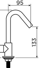 InBe cold water tap