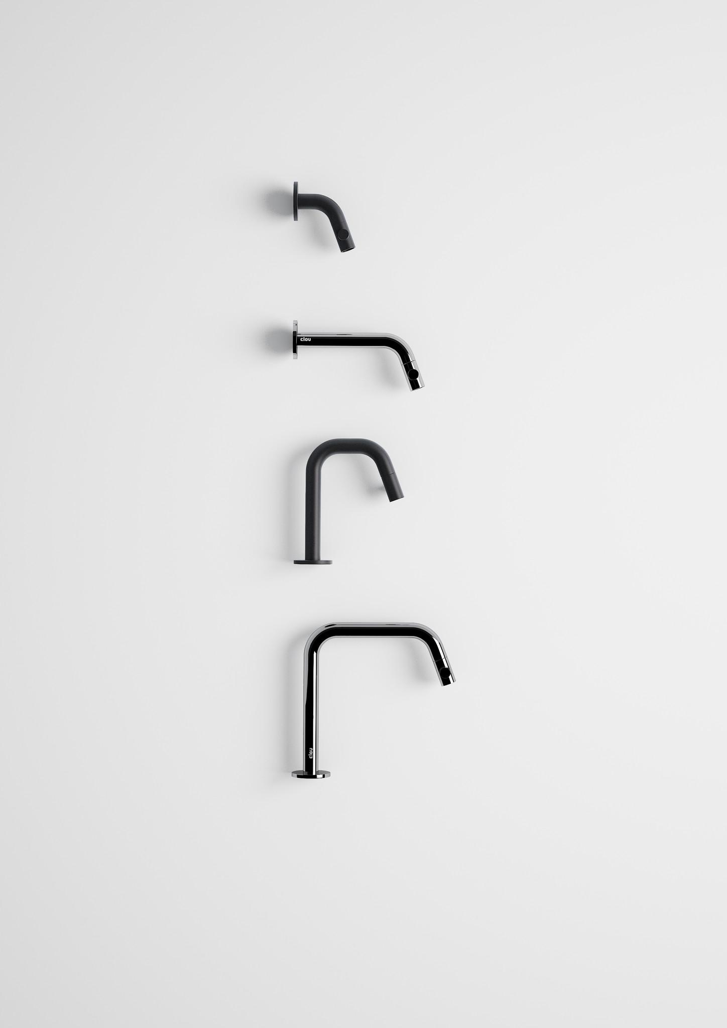 Kaldur fonteinkraan zwart