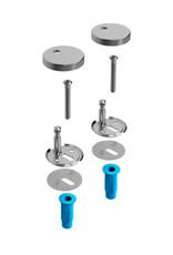 Hammock Set scharnieren t.b.v. Hammock toiletzitting CL/04.06040 & CL/04.06060