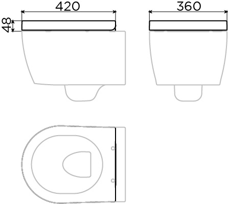 First Toiletzitting met deksel tbv First toilet