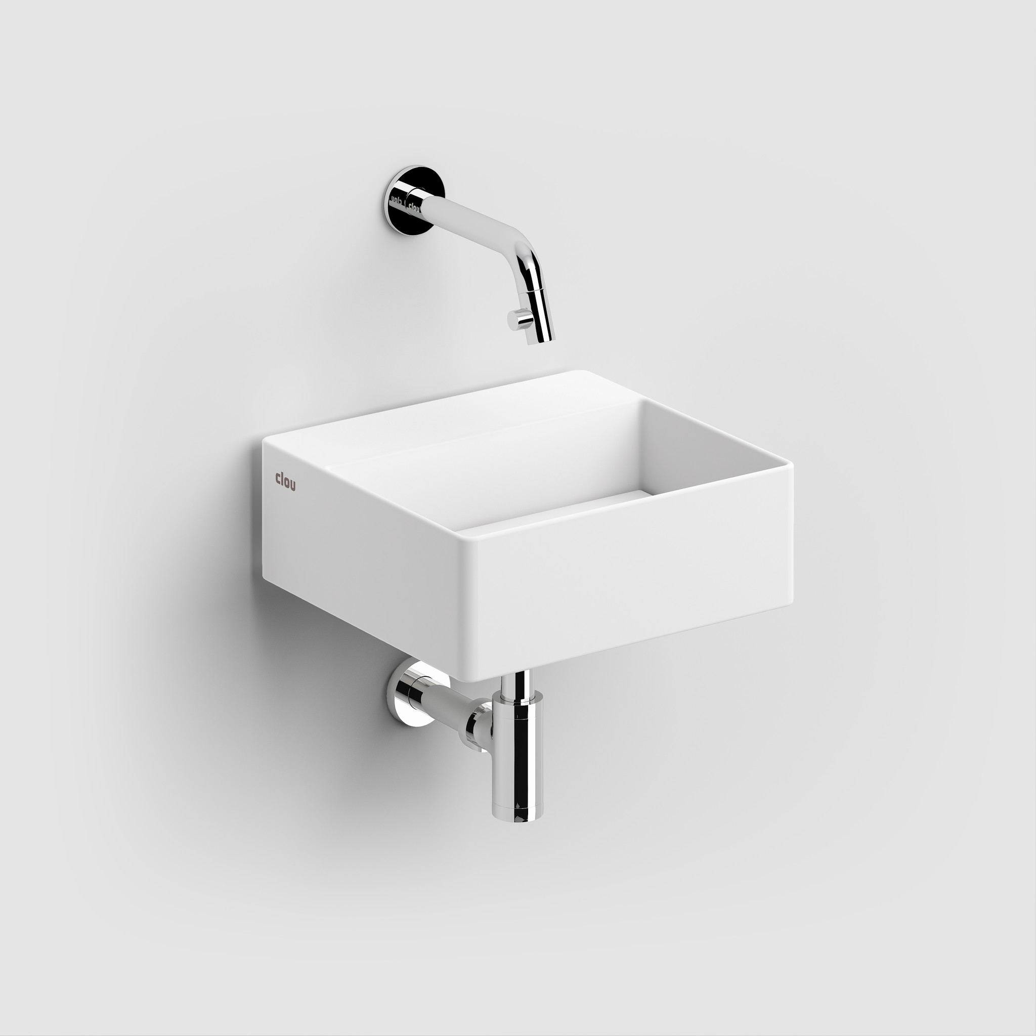 New Flush 1 hand basin with drain plate