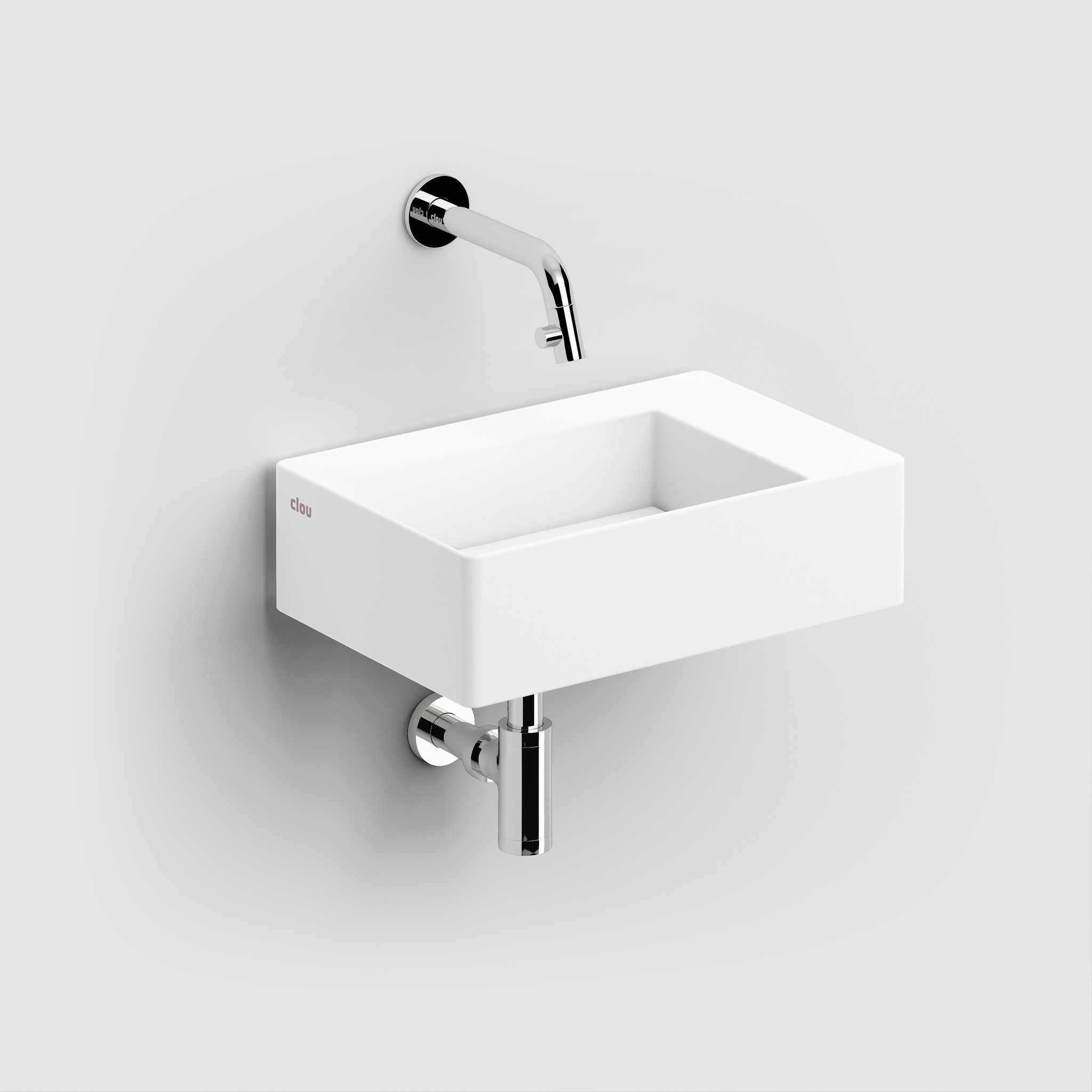 New Flush 2 hand basin with drain plate