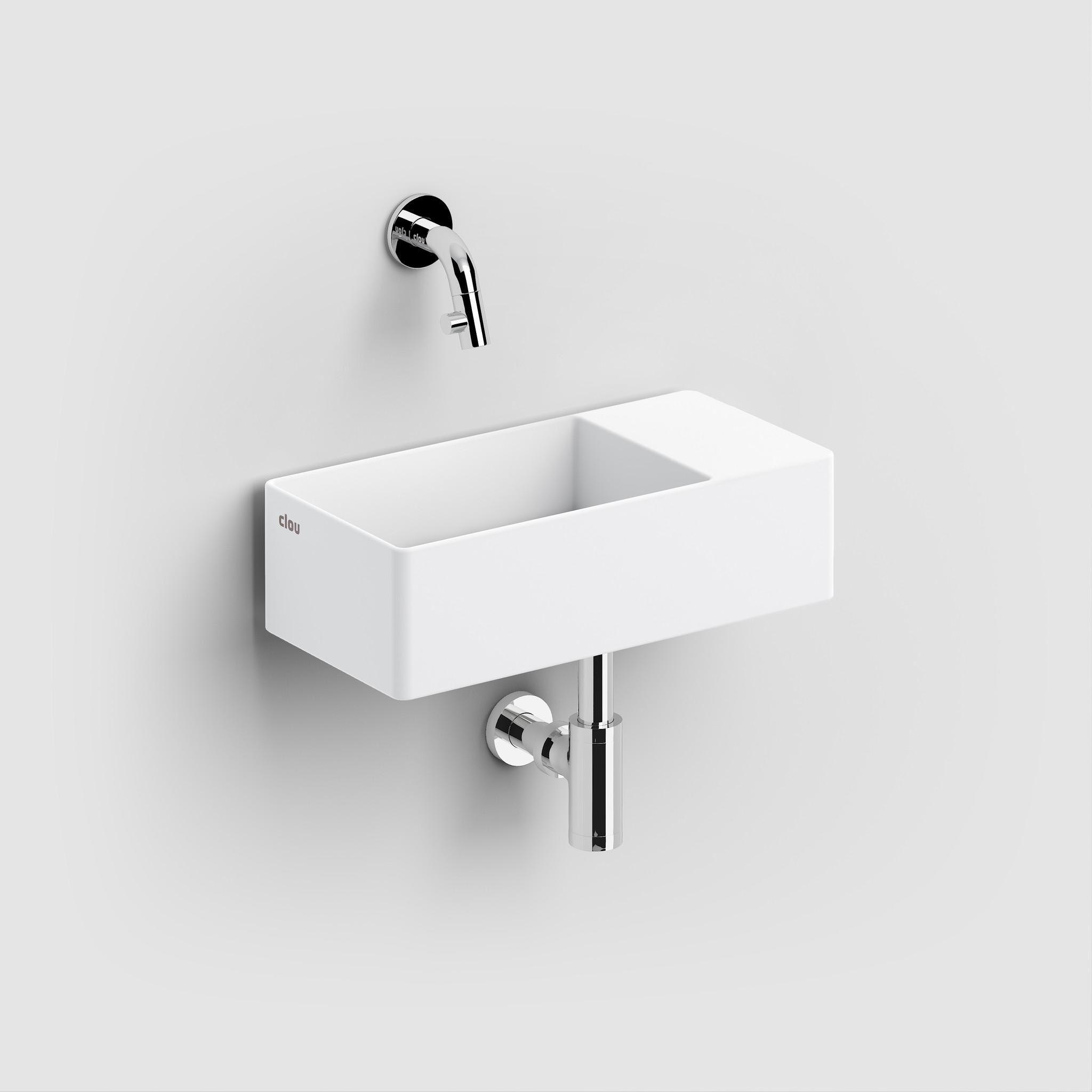 New Flush 3 lave-mains avec tablette couvre-bonde