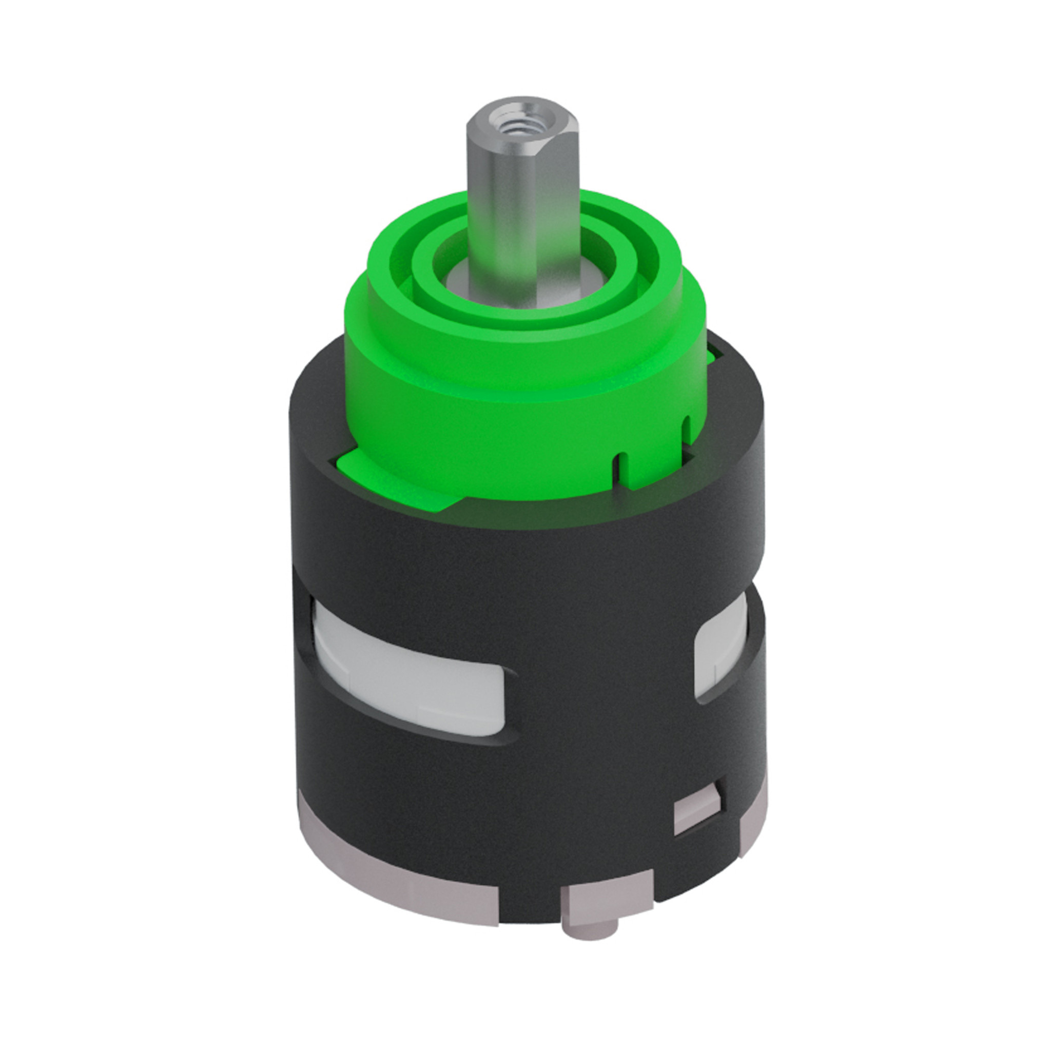 temperature control of Kaldur 2-hole mixer taps ceramic cartridge