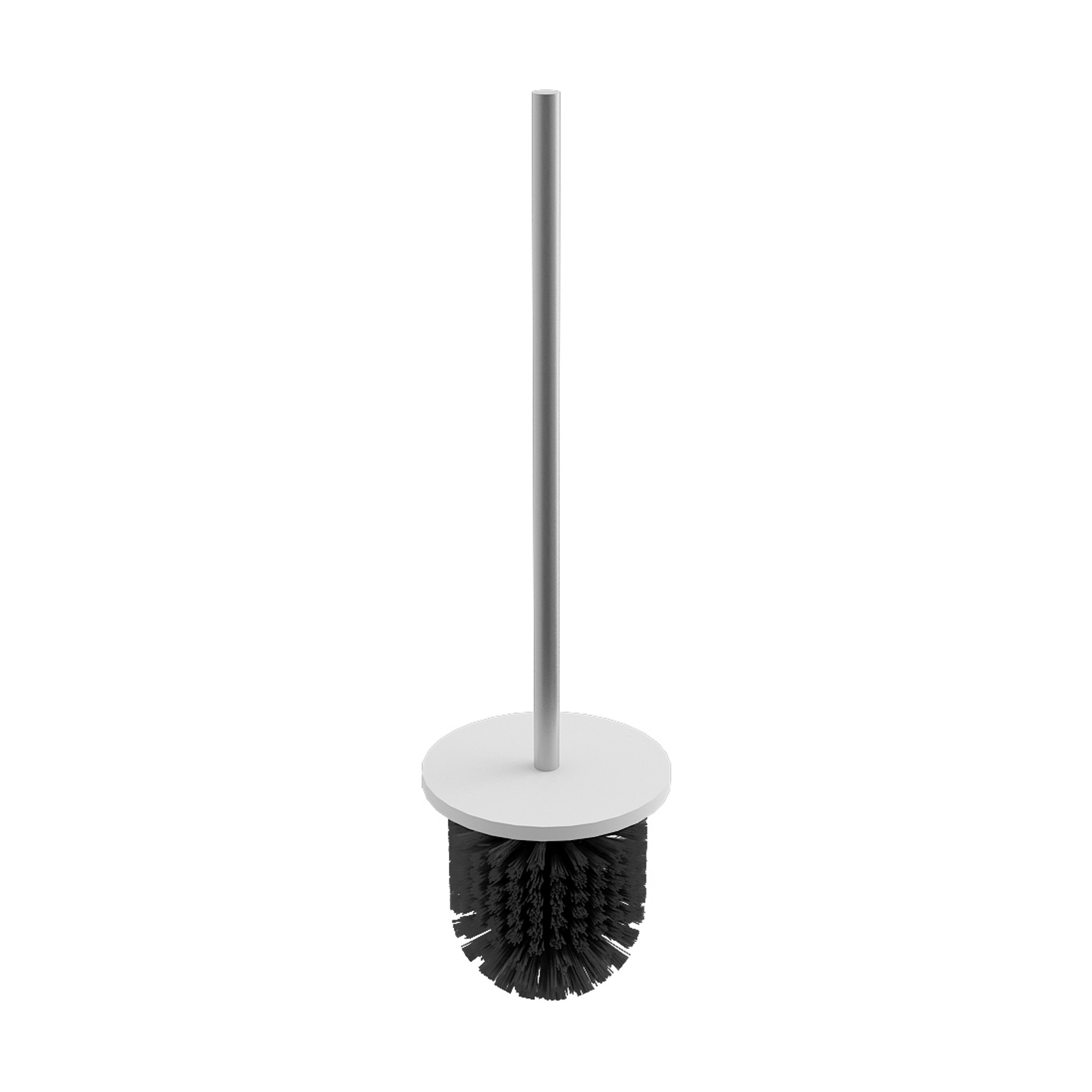 Slim spare toilet brush with handle Slim