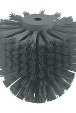 Slim brush head for toilet brush Slim
