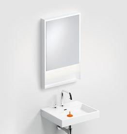 Look at Me Miroir 50 cm avec cadre et éclairage LED