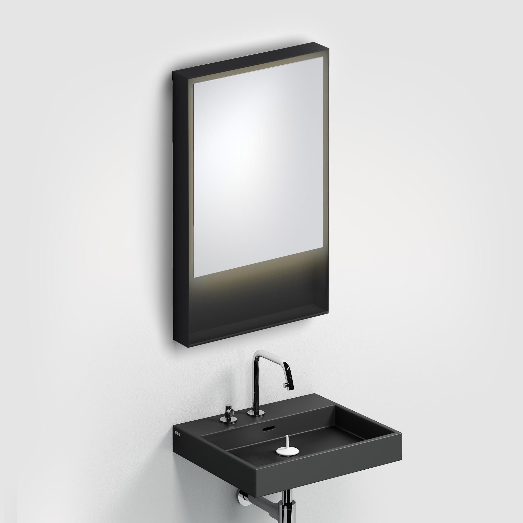 Look at Me Spiegel 50 cm met kader en LED-verlichting