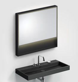 Look at Me Mirror 90 cm with frame and LED-lighting