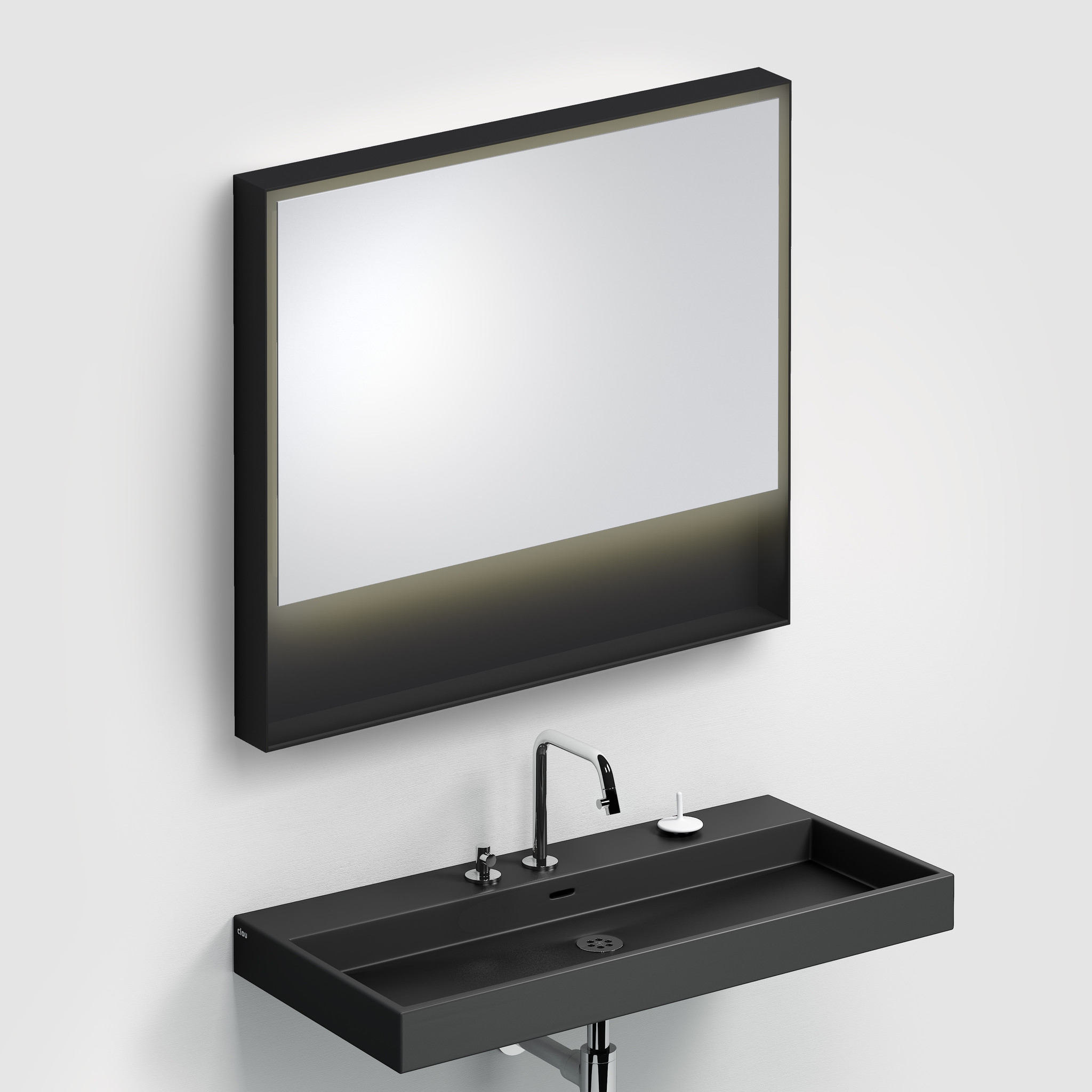 Look at Me Spiegel 90 cm met kader en LED-verlichting